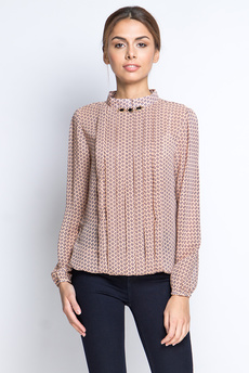 ХИТ продаж: шифоновая блузка со складками Marimay