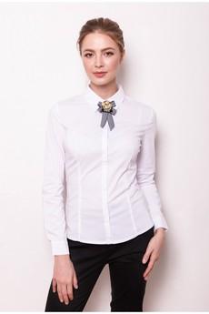Блузка с брошью Marimay
