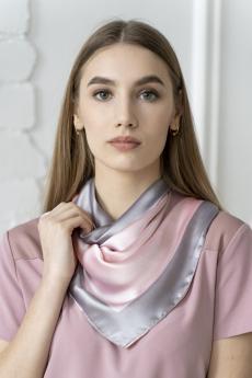 Платок женский розовый MYLIKE